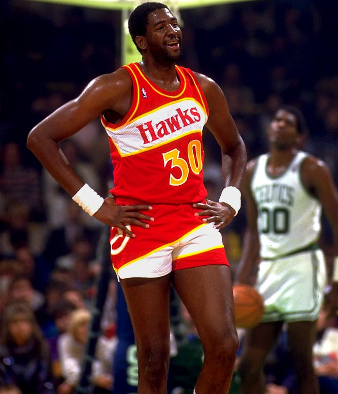"Defensive great Wayne ""Tree"" Rollins got his nickname from his large stature. At 7-1, Rollins was a defensive nightmare for most of his opponents. With stellar rebounding and shot-blocking abilities, the center might as well have been a tree on the court -- little could get past him."
