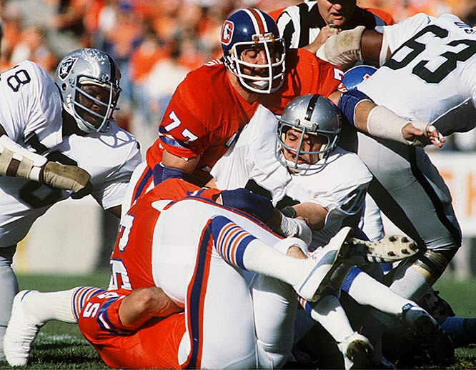 Largely responsible for the Denver Broncos golden year in 1977, the fierce Broncos defense, otherwise known as the Orange Crush, led Denver to a 12-2 season and their first ever Super Bowl. Unfortunately for Bronco fans, The 1977 season ended with a loss to the Dallas Cowboys that cost the team a championship -- a heart-breaking end to Denver's nearly perfect season.