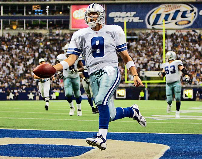 Romo, like Garcia, is of Hispanic descent on his father's side. Leading America's team, Romo has twice been named to the Pro Bowl. When he faced off against the Eagles and Garcia in 2006, it marked the first time quarterbacks of Hispanic descent faced off in the NFL.