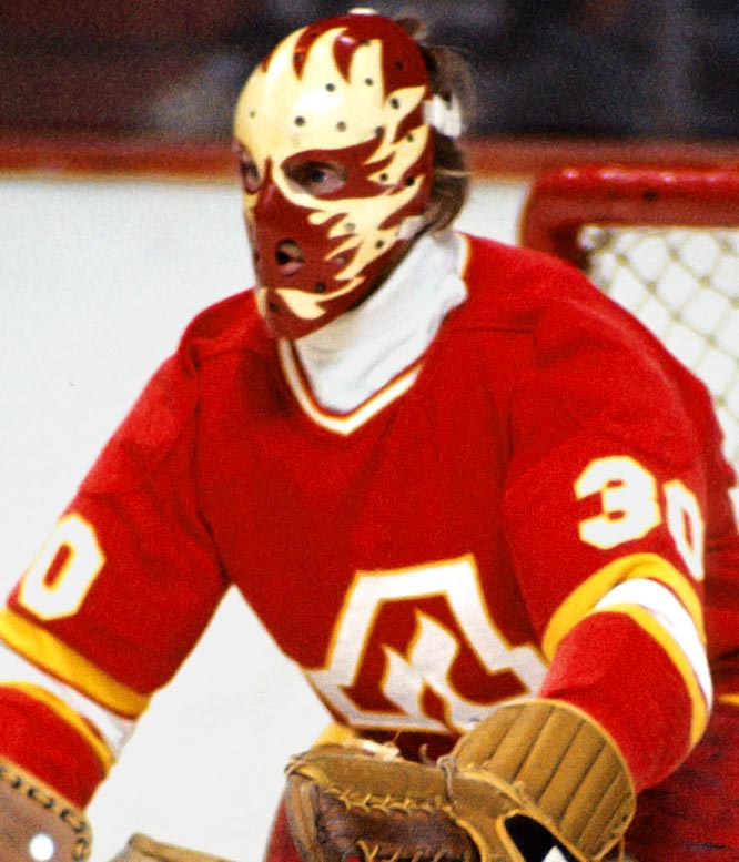 This fiery design speaks for itself, but the irony of this mask is that it was made by an Ottawa firefighter and former goaltender, Jim Homuth.