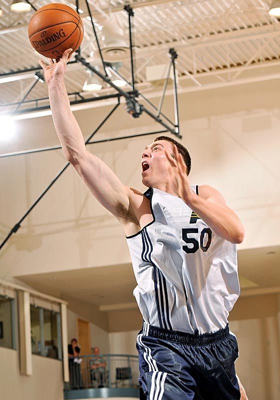 Hansbrough averaged 18.2 points and 5.6 rebounds as the Pacers went 5-0 at the Orlando Pro Summer League. ''People who said what he did in college he wouldn't be able to do in the NBA should come here and watch him,'' Nets president Rod Thorn told Pacers.com.