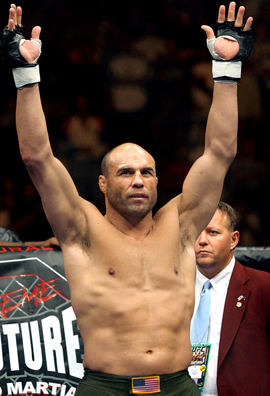 "At :08 in the first round of UFC 68, Randy ""The Natural"" Couture, 43, sent then-champion Tim Sylvia flying to the mat with his first punch.  Couture dominated all five rounds, defeating a younger and larger Silvia by a unanimous decision.  Who would you add to the list? Sent suggestions to siwriters@simail.com."