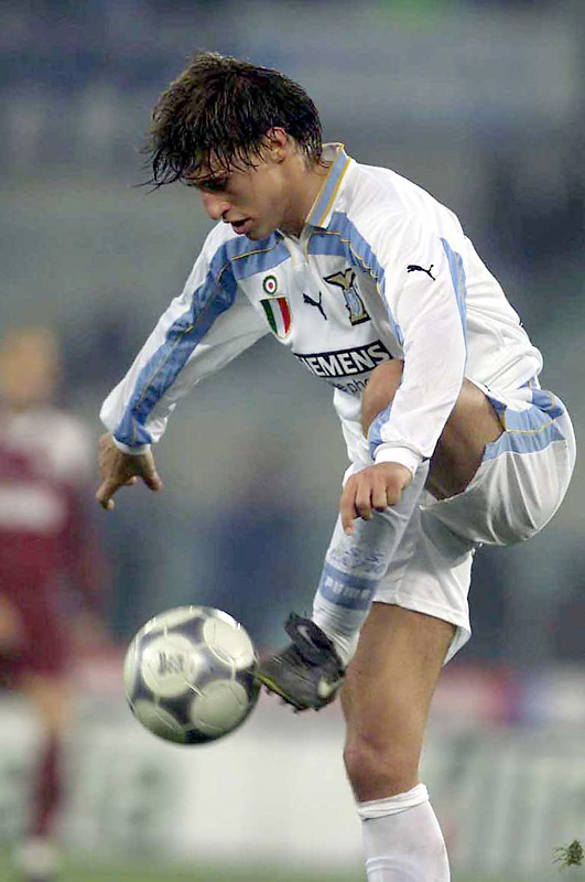 Roman club Lazio broke the bank for the Argentine, paying Parma what was then a record transfer, plus two surplus players, in order to land one of the top scorers in Italy's Serie A. Crespo lasted two seasons at the Stadio Olimpico before graduating to an even bigger club: Inter Milan, as a replacement for recently sold Brazilian goal machine Ronaldo.