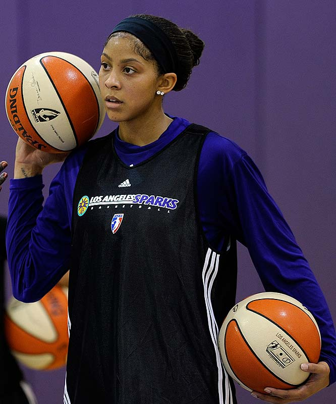 Sparks star Candace Parker (a.k.a. the female Michael Jordan) has returned to the court for Los Angeles; it's much cheaper to catch her act than it was Jordan's. The best women's basketball in the world can be seen for as low as $10.