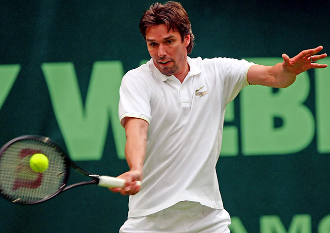 After a decade-long retirement, the former Wimbledon champion and world No. 2 announced he's returning to the tour to play doubles at next week's German Open. The 40-year-old will team up with fellow German Mischa Zverev, who warmed up by knocking off top-seeded Gilles Simon in the singles draw at this week's Mercedes Cup in Stuttgart.