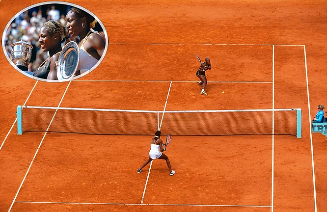 In a match that featured 13 service breaks, Serena defeated her older sister 7-5, 6-3. Two days later, the rankings showed Venus at No. 1 and Serena at No. 2, the first time siblings were 1-2.