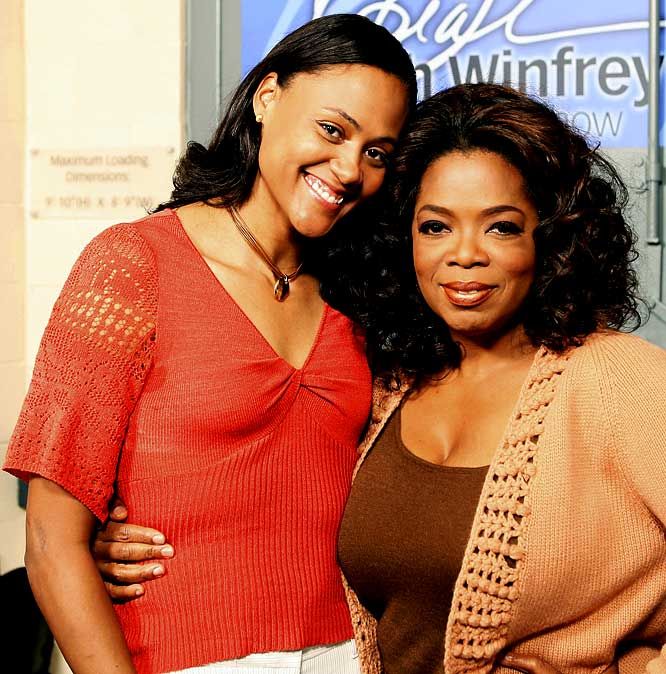 The Olympic track champion told talk show host Oprah Winfrey in 2008 that she'd lied to federal prosecutors about using steroids because she didn't love herself enough.