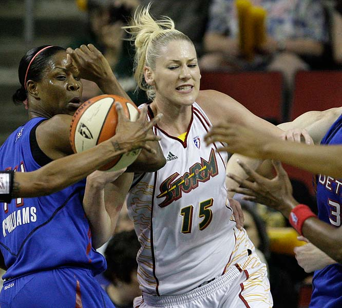 All over the league, it seems teams have been reupping their commitment to stopping Lauren Jackson (pictured). But no one wanted to see her neutralized the way she was on Wednesday, when she left the last 131/2 minutes of the Storm's game against the Shock with a strained left calf. She had been held to 11 points, four rebounds and two steals. After MRI results revealed a mild strain of her left Achillies tendon, the Storm said she'll be missing the trip to Sacramento and day-to-day after that.  <br><br>Next three: 7/17 at Sacramento; 7/19 vs. Minnesota; 7/22 vs. Los Angeles