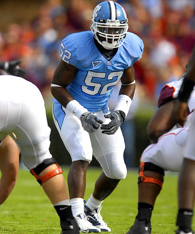 The general of UNC's talented linebacking corps, Sturdivant notched 122 tackles last season. Fast and agile, he will have to take on more of a leadership role this season after moving back to middle linebacker.