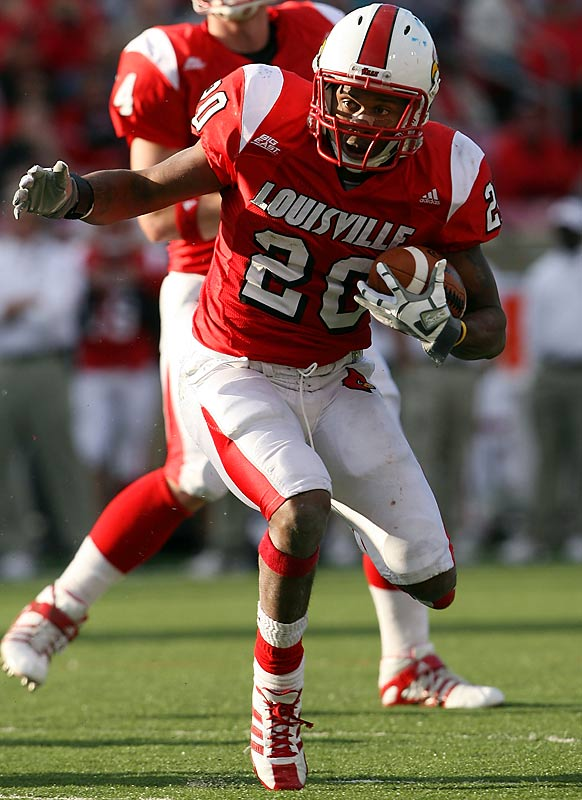 Anderson was a rare bright spot for the beleaguered Cardinals in 2008, rushing for 1,047 yards and eight TDs on his way to Big East Rookie of the Year honors. He figures to see plenty of touches this season as coach Steve Kragthorpe takes over play-calling duties in what could be his make-or-break year.