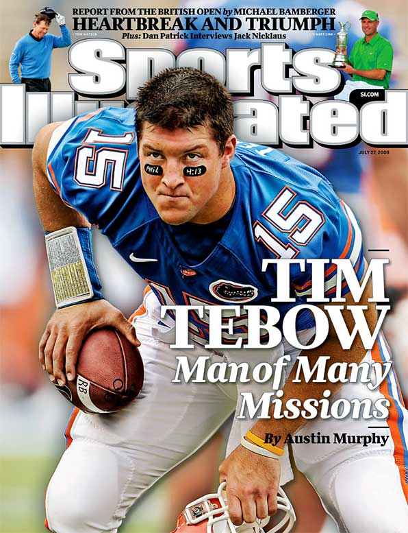 Since arriving at Florida, Tebow's achievements have earned him acclaim as the greatest player of today, and arguably of all time. It's easy to see why. In three years with the Gators, he's passed for 6,390 yards and 67 TDs and rushed for 2,037 and 43 more, won the Heisman and two national titles and displayed relentless commitment and leadership.