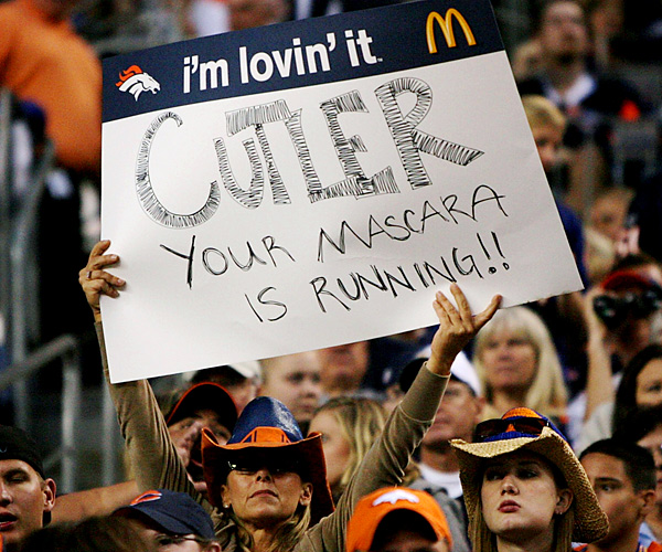 Whether it's real or not, Jay Cutler is perceived in Denver as someone who whined his way out of town.