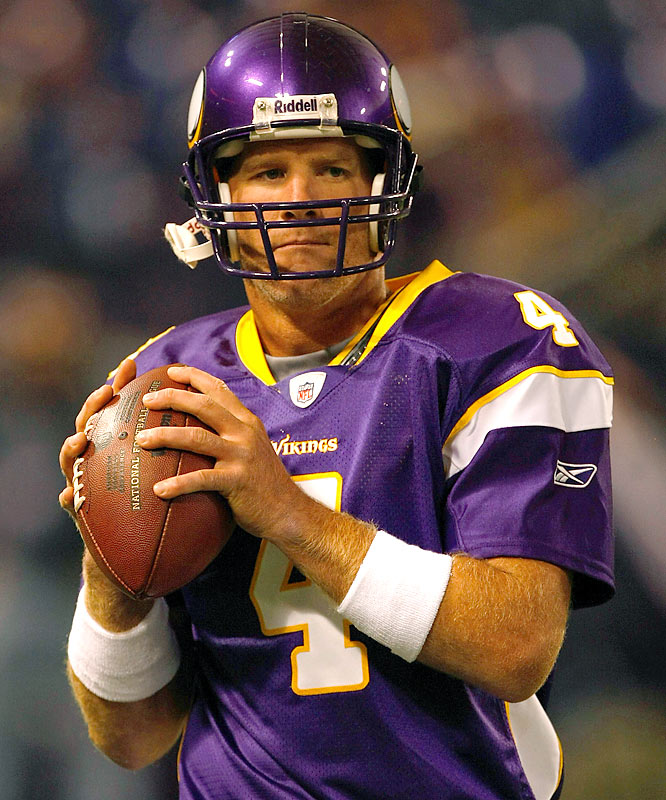 When Brett Favre takes the field Sept. 13 at Cleveland, he'll add to his all-time streak of 291 consecutive starts.