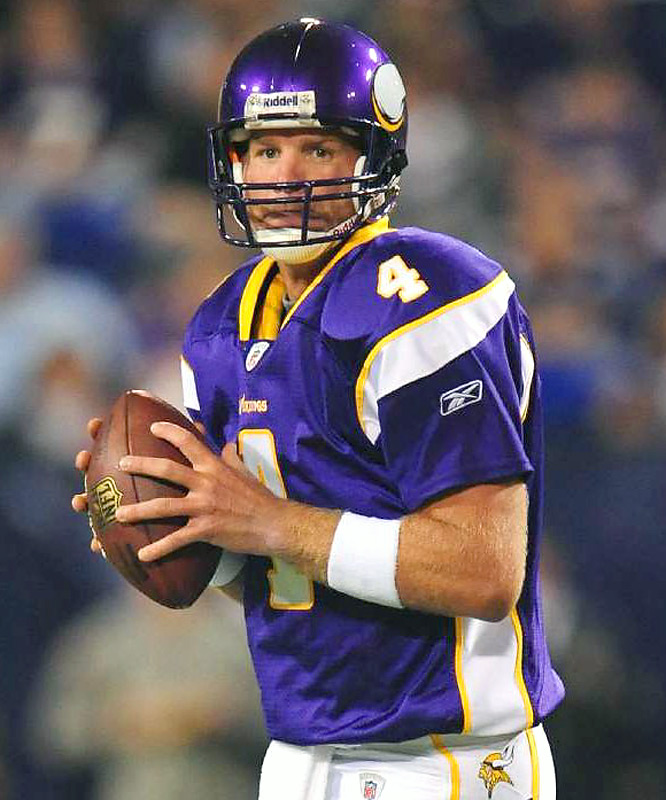 Vikings coach Brad Childress commended Brett Favre for being in good shape prior to joining the team this week. By all accounts, Favre still has his rocket arm firing on all cylinders.