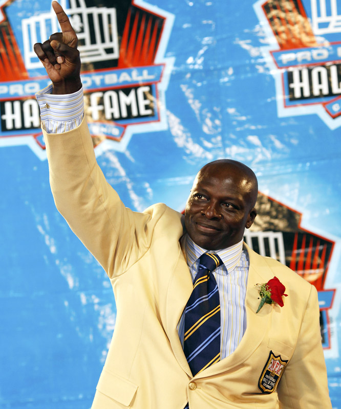 Bruce Smith was the Bills' No. 1 overall pick in 1985, comprising one-half of a supersized '85 draft class for Buffalo (along with wide receiver Andre Reed).