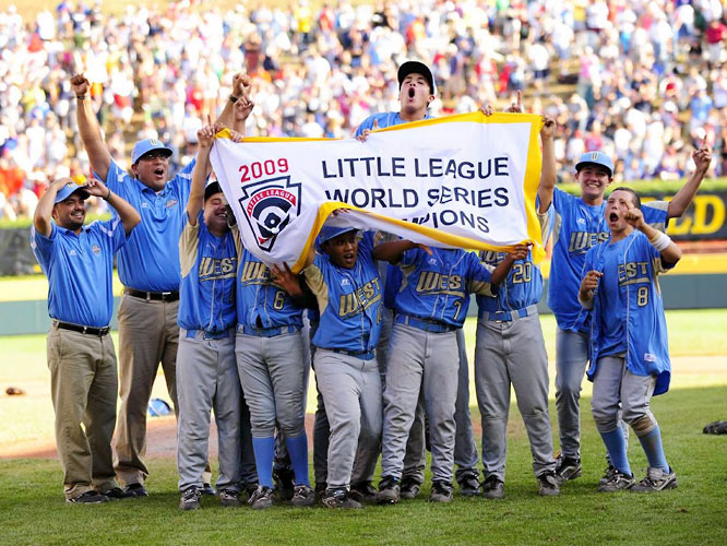 The Blue Bombers from Chula Vista, Calif. secured the fifth straight Little League championship for the United States.
