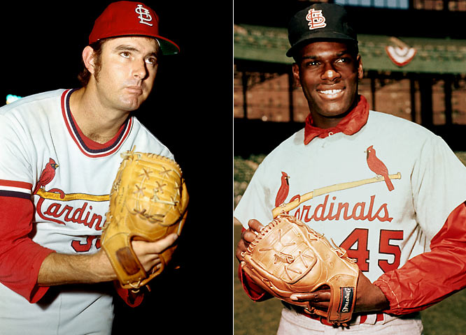 From 1968 to '71, Bob Gibson was named NL MVP once, won two Cy Young Awards, made four All-Star teams, was awarded four Gold Gloves and posted a 2.32 ERA. Meanwhile, Carlton made three All-Star teams and had a very nice 3.14 ERA.