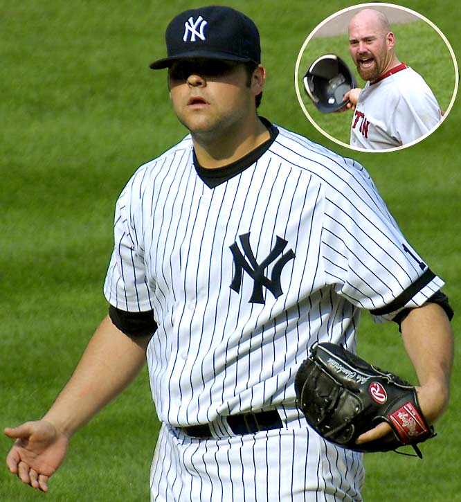 Chamberlain has made a habit of sending Youkilis to the dirt by throwing fastballs around his head. On August 30, 2007, Chamberlain threw two consecutive fastballs near Youkilis' head and was immediately ejected. A reliever at the time, Chamberlain was suspended for two games and fined $1,000.