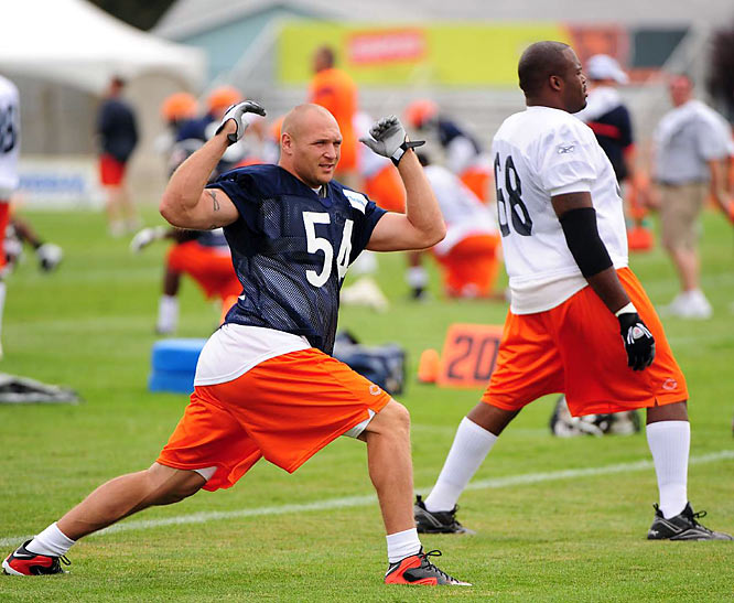 "Standout middle linebacker Brian Urlacher is very optimistic about this upcoming season.  ""I think this is the best team I've been on going into training camp since I've been here,"" he said last week."