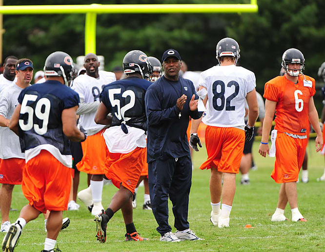 Discouraged by a poor defensive performance last year, Bears head coach and former defensive coordinator Lovie Smith announced that he will be calling the defensive plays this season.