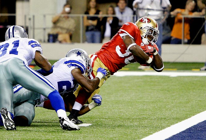The 49ers won the battle of the backups in the second half, winning on a 9-yard touchdown run by Kory Sheets with 33 seconds left.  Sheets turned 11 carries into 42 yards and two touchdowns.