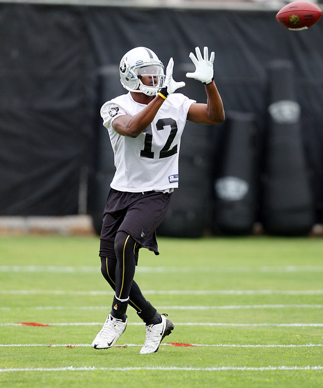First-round draft pick Darrius Heyward-Bey has the chance to make an immediate impact for Oakland.