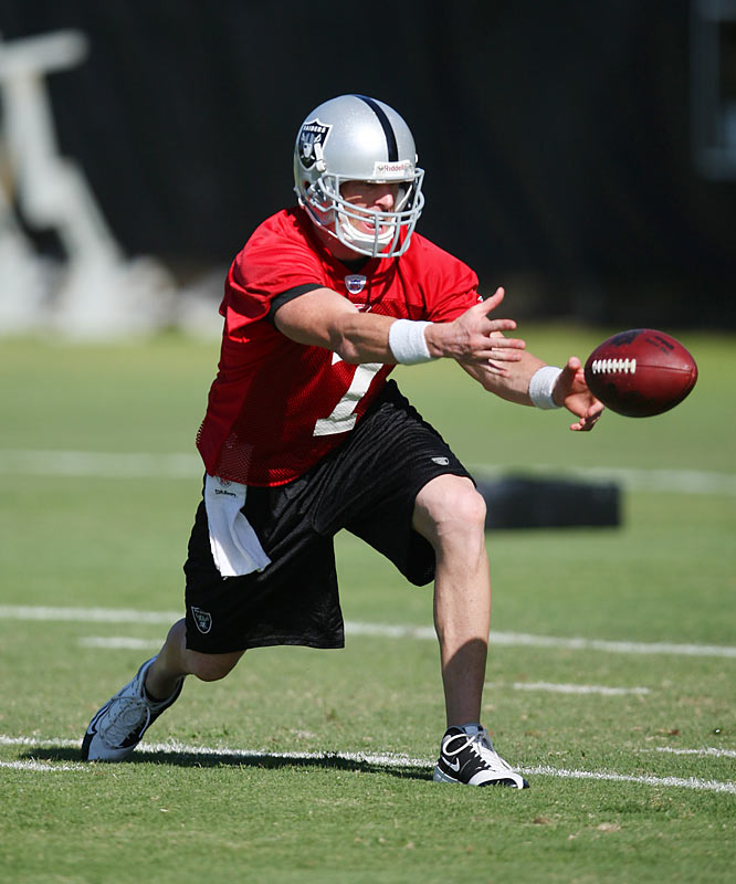 While Russell is assumed to be starting at QB this year, Jeff Garcia said last week he wants to win the starting job.