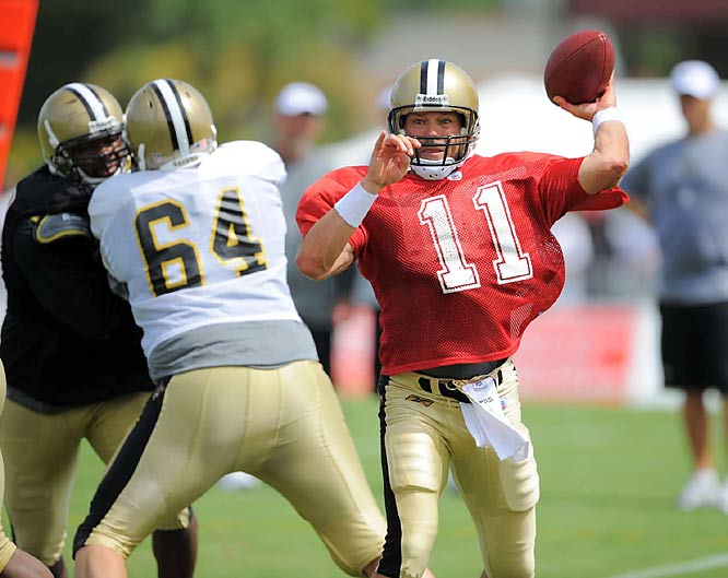 Brunell gives the Saints an experienced backup to Drew Brees.