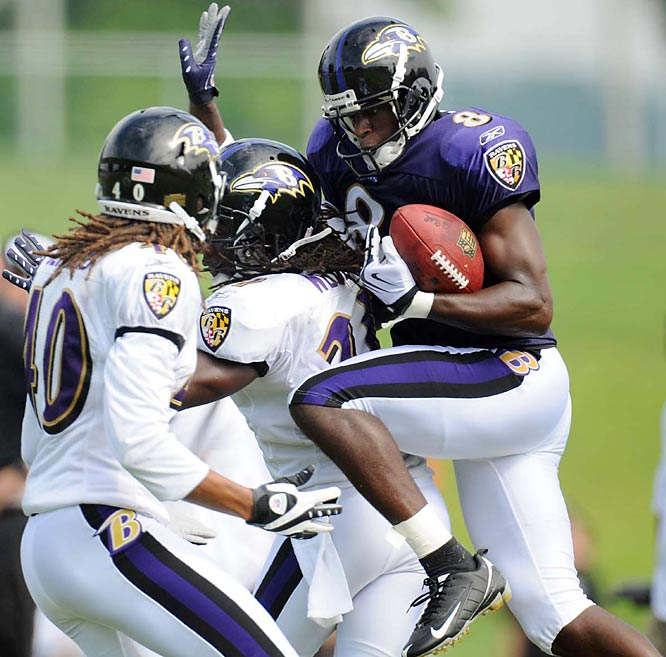 With Derrick Mason back from retirement and coming off an 11-5 campaign, the Ravens look poised for another deep run.