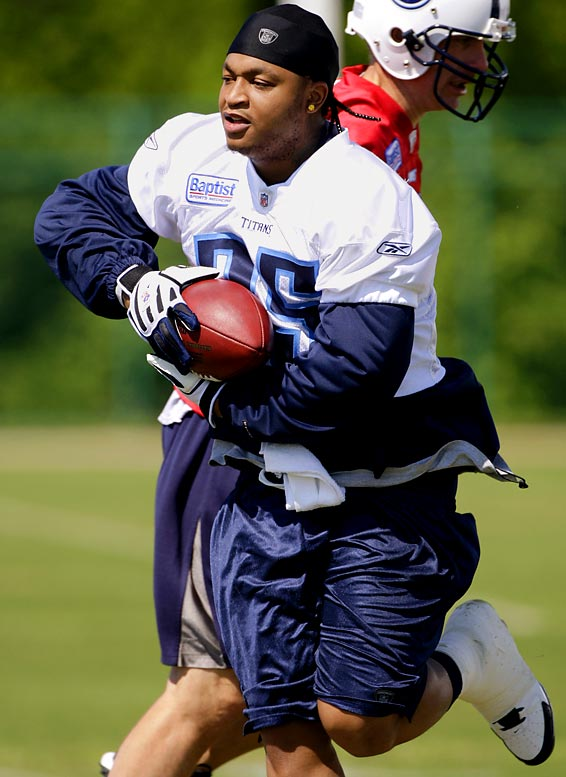White shed more than 30 pounds in just six months after staying away from tequila. The Titans' running back is now in the best shape of his career. I'm guessing White isn't going to be the face of any fitness programs with his, um, new diet, but to each his own.