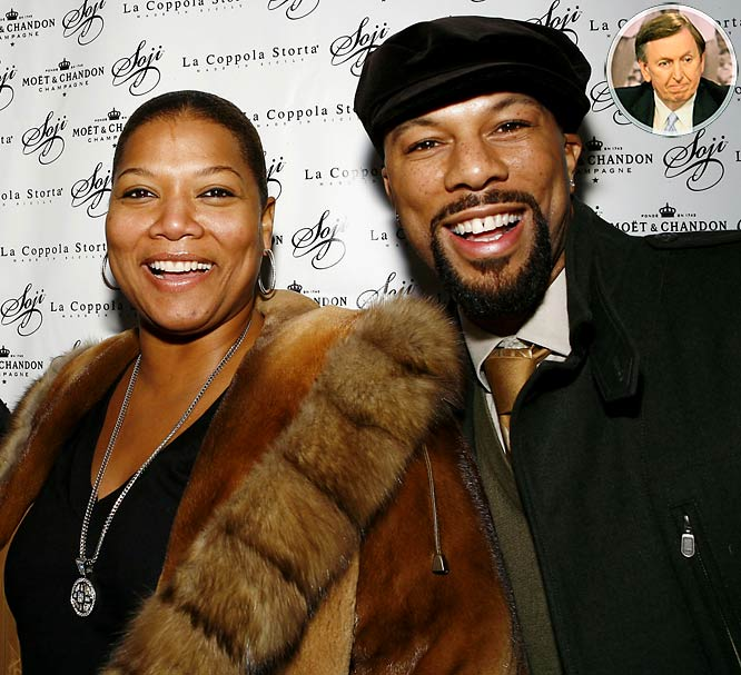 File this under, ''Cameo appearances you never thought you'd see on the big screen.'' Queen Latifah and Common are filming a romantic comedy about basketball called <i>Just Wright</i>, which will feature a cameo by Nets president Thorn. They will be at the IZOD Center next week filming scenes along with a few Nets players. Thorn has as much chance of parlaying this into a Hollywood career as the Nets do of contending for a title next season.