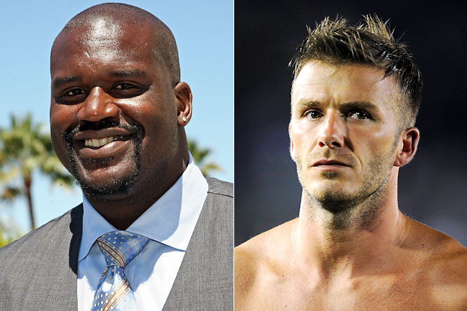 "This is easily becoming the best feud to hit Los Angeles since Shaq was rapping about Kobe and his backside. After Beckham denied Shaq's challenge to score a goal on him (""I don't see him calling Kobe out. ... I think Kobe could score against him"") Shaq fired back. While in L.A., the Big Diesel said, ""There's no way you'd score on me. ... How many goals did you score for the Galaxy?"" O'Neal later took to Twitter and called Beckham's time in L.A. a disaster. We're awaiting your response, Becks."