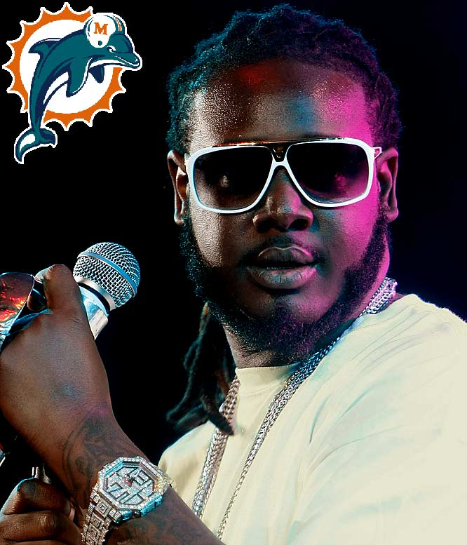 The Dolphins, who count Gloria Estefan and Marc Anthony as minority owners and have a business deal with Jimmy Buffett, are really taking their need to align themselves with every celebrity under the sun to a whole new level. Now, their poor fans have to endure a new fight song -- courtesy of T-Pain and Pitbull -- that sounds as bad as you think it would. If the Dolphins are going to play this song after every touchdown, you might actually get some fans rooting for three-and-outs just to keep their sanity.