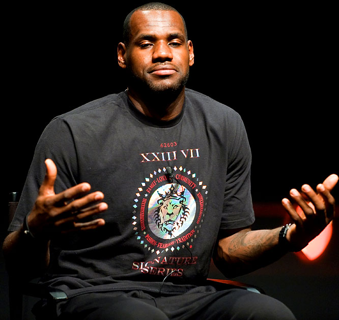 "Following in the footsteps of Shaquille O'Neal, LeBron James has reportedly agreed to be a guest host on <i>WWE Raw</i> in the next few weeks. Why do I get the feeling that he's going to be squaring off against Jerry ""The King"" Lawler in a steel cage match to decide who is the real king?"