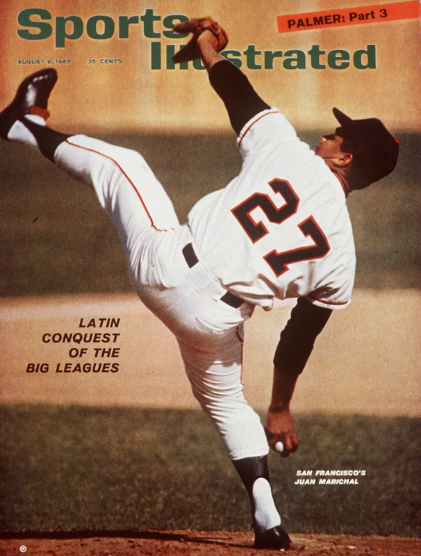 At San Francisco's Candlestick Park, Juan Marichal records his 50th career shutout as the Giants blank the Expos, 1-0. The Dominican hurler's ninth-inning double helps to setup the winning run.