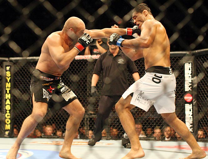 Despite the loss, Couture didn't appear to loss his fighting edge. Instead, Nogueira seemed to regain his.