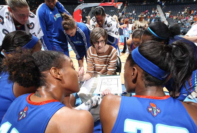 Since taking over from the deposed Pat Coyle last month, Liberty assistant-turned-head coach Anne Donovan has essentially had to handle the coaching duties by herself. The extra workload exacted a price; Donovan only managed one victory in her first four games. On Monday, the Liberty finally secured her some by hiring Laurie Byrd, a Flint, Mich., native who won a ring as an assistant with Detroit in 2003. That she helped guide the Liberty to a 65-61 victory in Los Angeles on Tuesday in just her first appearance on the sideline suggest she's already having an impact on the team. <br><br>Next three: 8/14 vs. Chicago; 8/16 at Washington; 8/19 at Connecticut