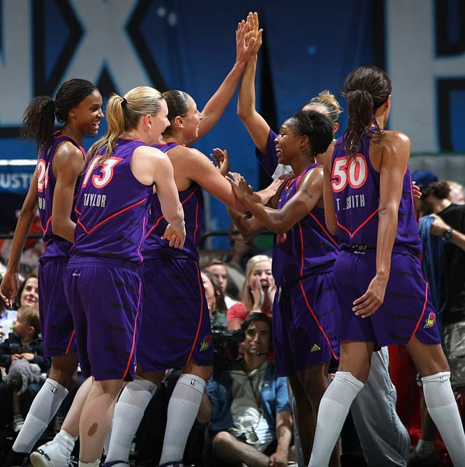 """To hear Diana Taurasi tell it, the difference in the Mercury's 90-83 loss to the Fever was Indiana's hot start. """"They came out in a blaze of glory,"""" said the All-Star guard, who scored only 16 points and got to the line twice. But where the squad really got burned was on the boards. Indiana outrebounded Phoenix 43-26, allowing them just three offensive boards. """"It really killed us,"""" Phoenix coach Corey Gaines said. """"It gives them second-chance points and free throws and it just slows down the game.""""<br><br>Next three: 8/13 vs. San Antonio; 8/15 at San Antonio; 8/18 at Chicago"""