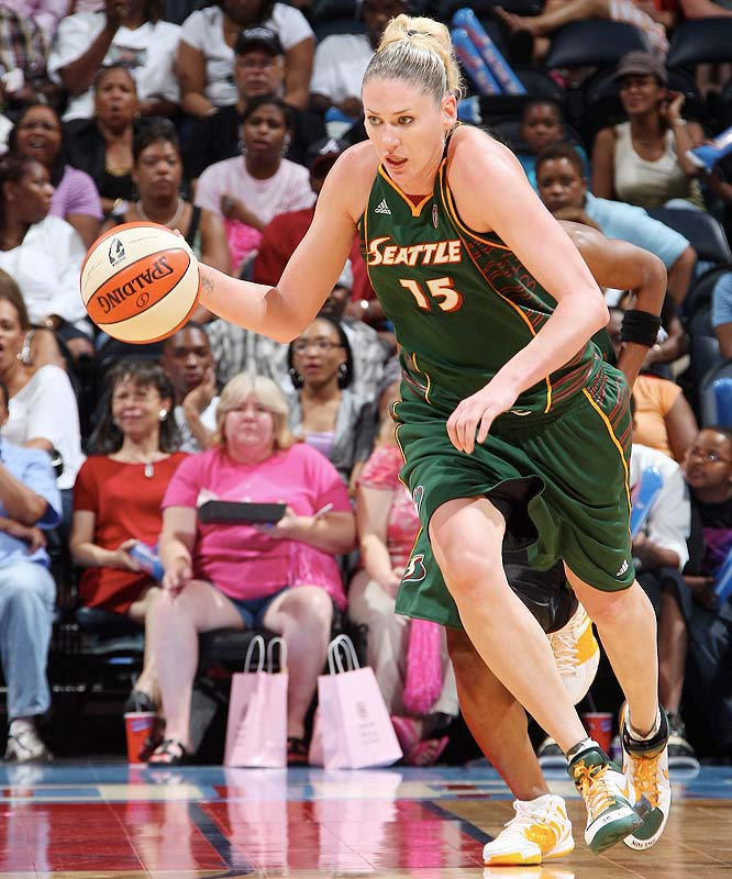 It was a week of distinguished and dubious record setting for the Storm. Last Thursday at Atlanta, Lauren Jackson (pictured) became the youngest player to score 5,000 career points, and Swin Cash scored her 3,000th point. Though they lost 88-79 loss to the Dream, dropping their record against the East to 1-6, the Storm rebounded three nights later with a 79-75 victory at Detroit. Still, with looming home stands against four of the East's five best teams, the Storm isn't out of the woods yet. <br><br>Next three: 8/22 vs. Indiana; 8/25 vs. Washington; 8/27 vs. Connecticut