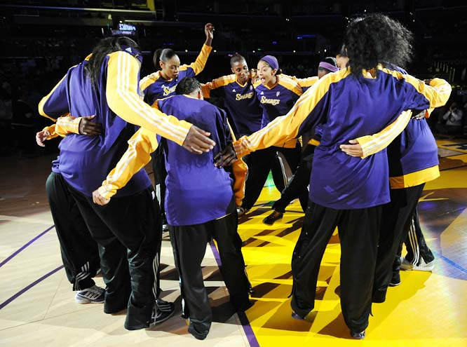 The Sparks are peaking at just the right time. Their 78-63 victory over the Lynx on Wednesday gave them their first three-game win streak of the season and vaulted them into a tie with San Antonio for third place in the West. What's behind the Sparks' surge? Tenacious shot blocking, for one. In the last three games they've swatted back a combined 21 attempts; a whopping 11 by Candace Parker. <br><br>Next three: 8/21 at San Antonio; 8/23 at Atlanta; 8/25 vs. Chicago