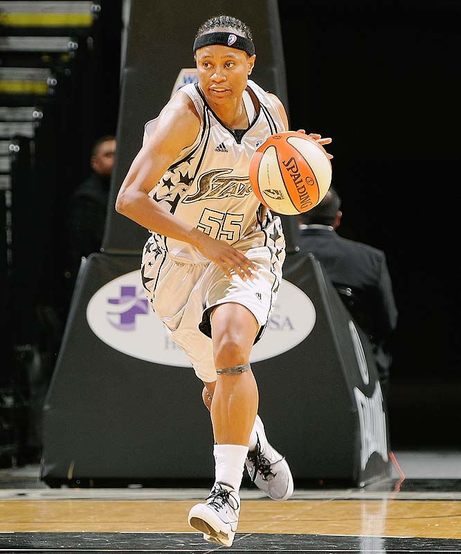 There's something to be said for showing up. That guard Vickie Johnson (pictured) has for the past 400 games says a lot. The total is more than any other player in league history, but the WNBA's version of Cal Ripken said last month that this would be her final season. Whether she'll be able to punctuate it with a repeat appearance in the WNBA finals will require more efforts like the one the Silver Stars put up last Saturday against the Mercury, when they set a franchise record for points scored in a 106-89 win. <br><br>Next three: 8/21 vs. Los Angeles; 8/23 at Detroit; 8/27 at Indiana