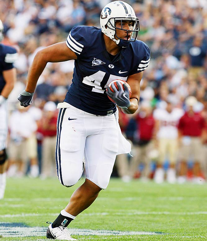 Harvey Unga ran for 113 yards and three touchdowns and BYU converted two interceptions and a blocked punt into scores while holding off Colorado State.