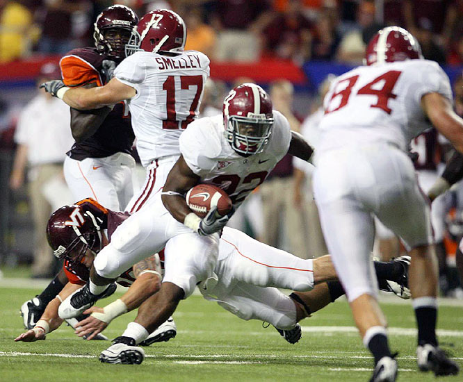 Mark Ingram rushed for a career-high 150 yards and finished off Virginia Tech with two fourth-quarter touchdowns.