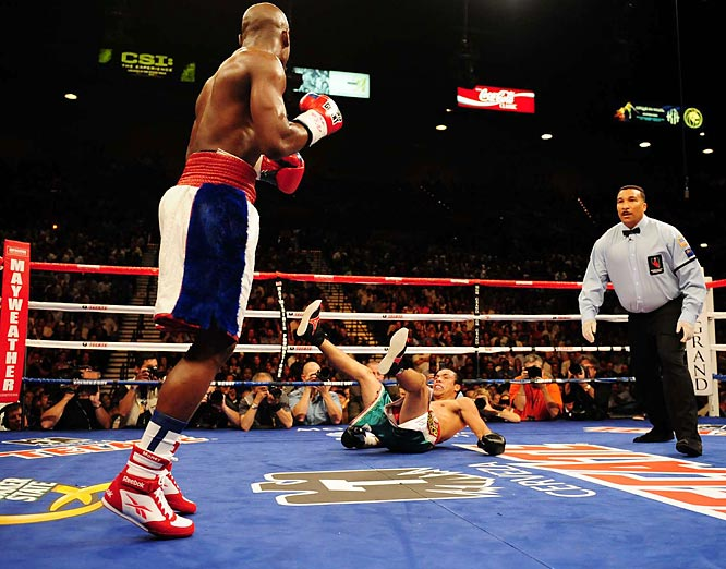 "After a 21-month hiatus, Floyd Mayweather Jr. returned to the ring on Sept. 19. In facing Juan Manuel Marquez, ""Money"" Mayweather appeared his old, dominant self, pummeling Marquez for a unanimous decision victory."