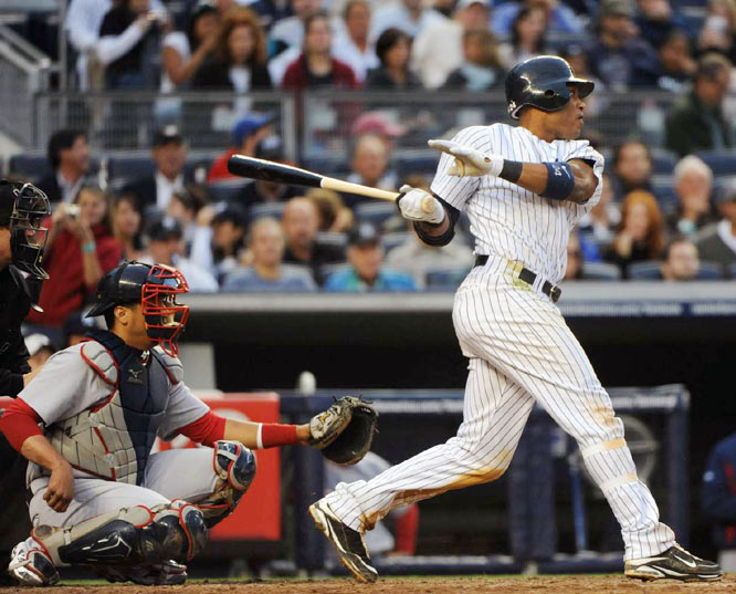 Robinson Cano's sixth-inning home run off Daisuke Matsuzaka was the only run the Red Sox pitcher yielded.