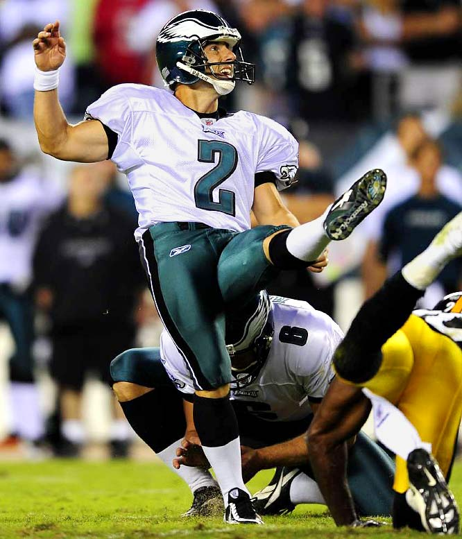 The Philadelphia Eagles placekicker and three-time Pro Bowler has been known to dabble in martial arts during the offseason.