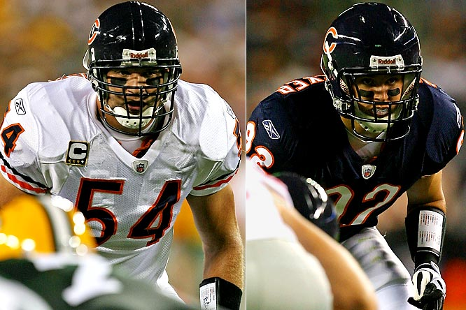 Urlacher has been Chicago's stalwart at middle linebacker since 2000, but suffered a season-ending wrist injury against the Packers. Hillenmeyer is not a bad option given the circumstances: he was a starter at strong-side linebacker for the Bears from 2004 to '08 and played well on some great defenses, even if overshadowed by Urlacher and Lance Briggs.