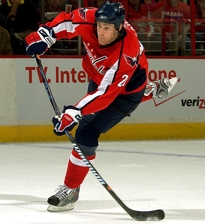 No, it's not all about Ovie in D.C. A sixth-round pick (by Ottawa) in 2001, Laich is a vital presence on the ice (back-to-back 20-plus goal seasons) and in the dressing room with his desire to do whatever the Capitals need on any given night. <br>-- <i>Michael Farber</i>