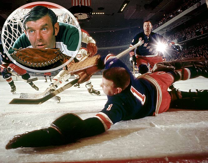 The Hall of Fame goalie who won 335 games for the Rangers, Canadiens and North Stars from 1952 to 1974 was a kid when a friend started calling him Gump because Worsley's hair stood straight up like a comic strip character named Andy Gump. The moniker stuck after Worsley listed it on a form while signing on with a junior team.