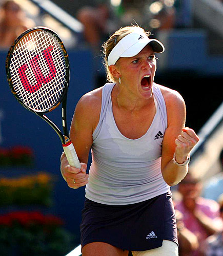 Oudin was ranked 221st and lost in the first round of last year's Open. Now she is 70th and bound to move up.